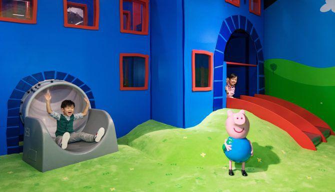 Peppa Pig es una seria animada británica que se estrenó desde el 2004.(CORTESIA)