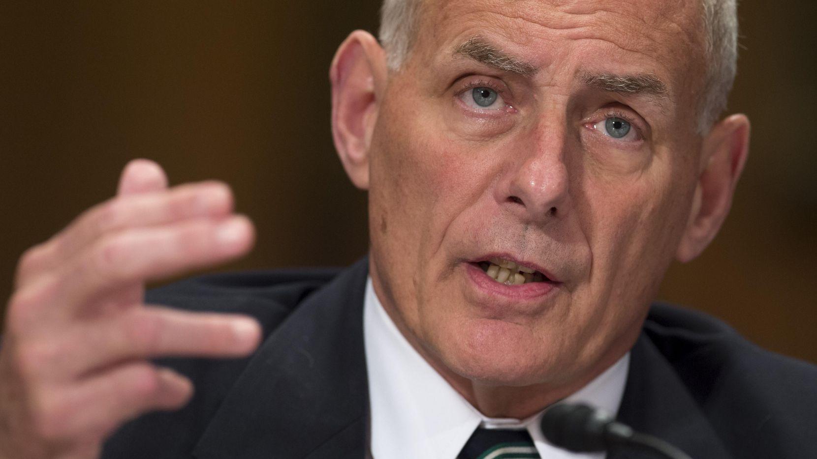 El jefe de gabinete de la Casa Blanca, John Kelly.(GETTY IMAGES)
