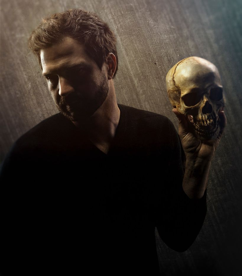 Seth Magill stars as Hamlet in 'Hamlet,' presented by Shakespeare Dallas at Moody Performance Hall, Jan. 11-20, 2019. Photo supplied by Shakespeare Dallas.