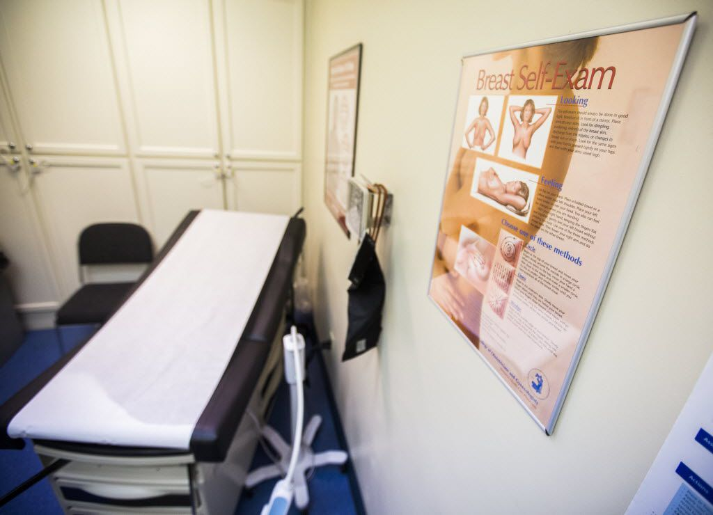 An exam room at the Planned Parenthood Women's Health Center in Waco, Texas on Wednesday, December 31, 2014.