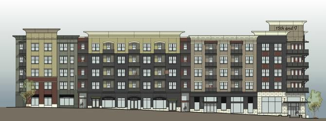 Southern Land's apartment and retail building is one of the latest effort to revitalize Plano's old downtown. The mixed-use building will include 279 apartment units.