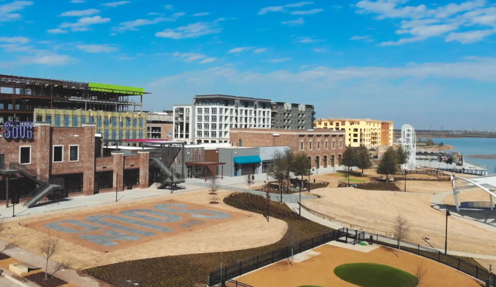 The Sound retail village is the new dining and shopping destination in the 1,000-acre Cypress Waters development.