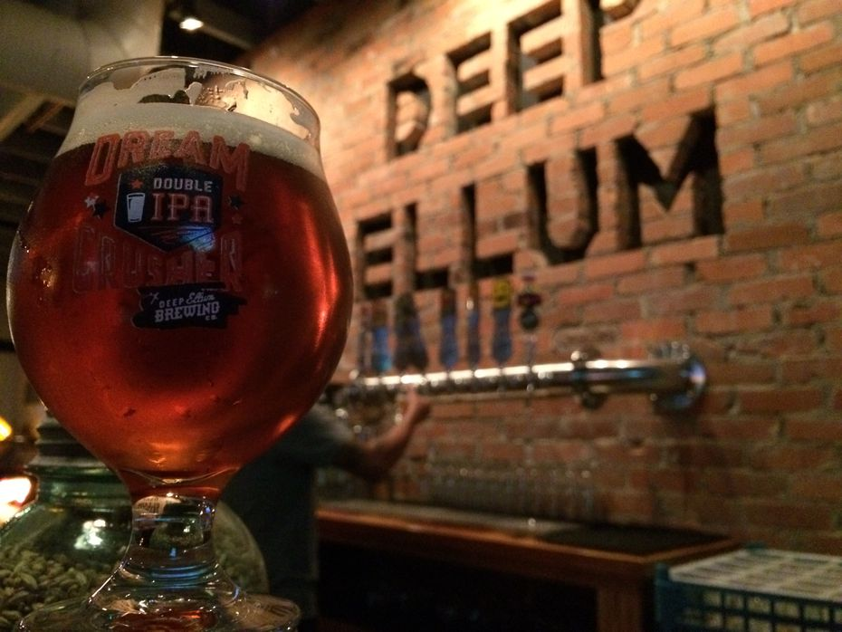 Deep Ellum Brewing Co. opened its taproom in fall 2014.