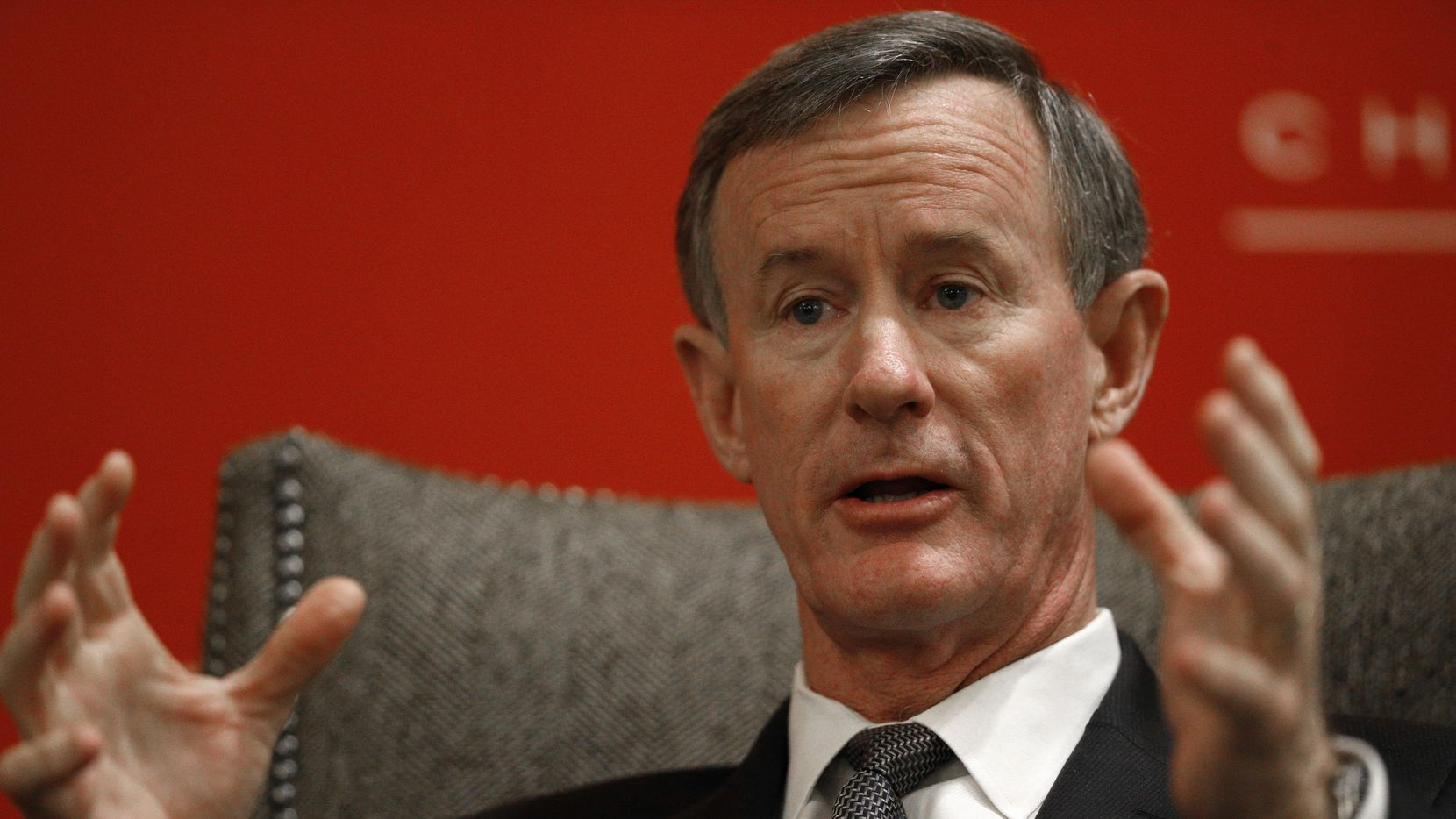 William H. McRaven, ex canciller del sistema de la Universidad de Texas. (DMN/NATHAN HUNSINGER)