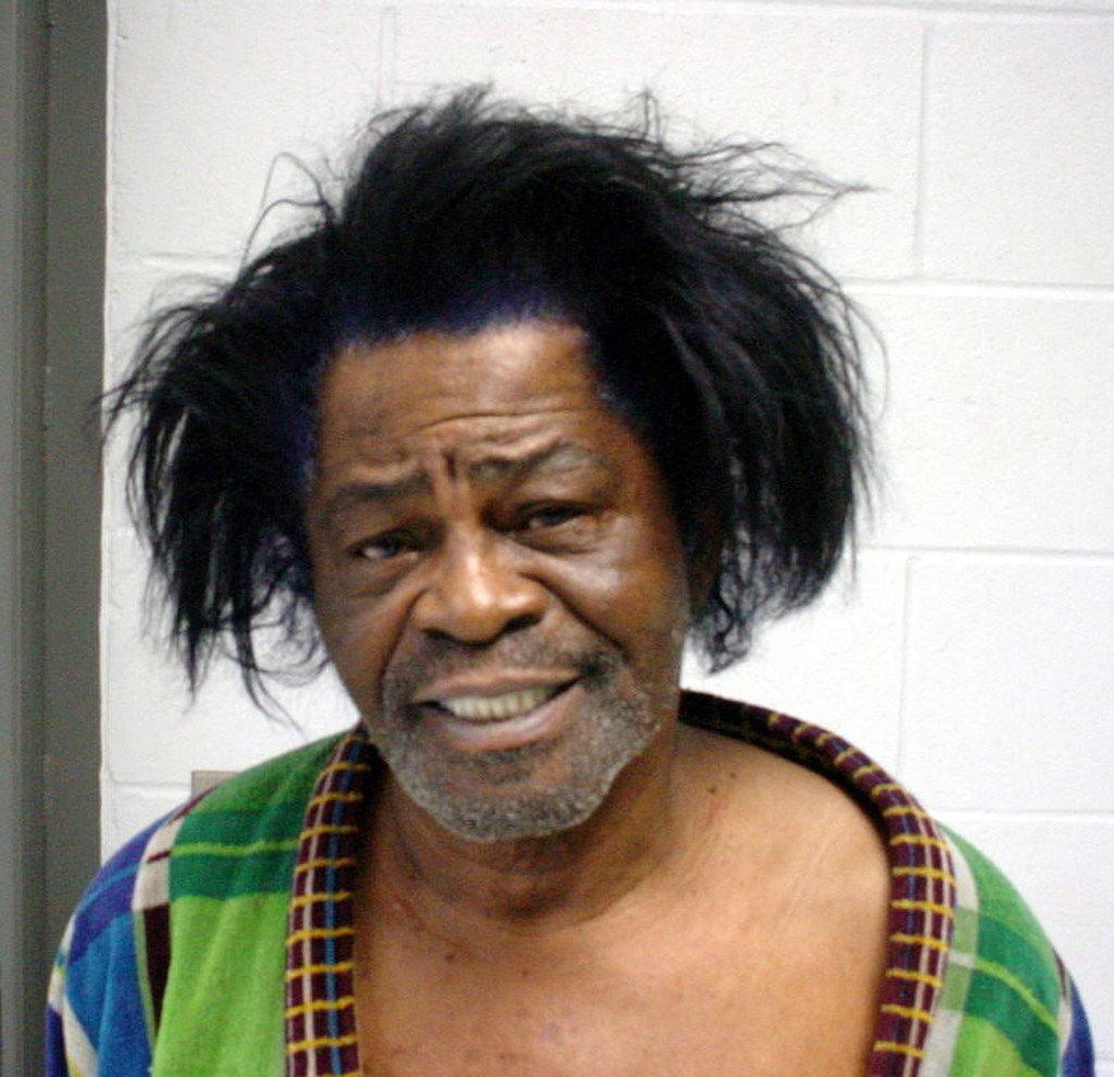 This mug shot provided by the  Aiken County Sheriff's Office shows singer James Brown, who was arrested January 28, 2004 and charged with criminal domestic violence.
