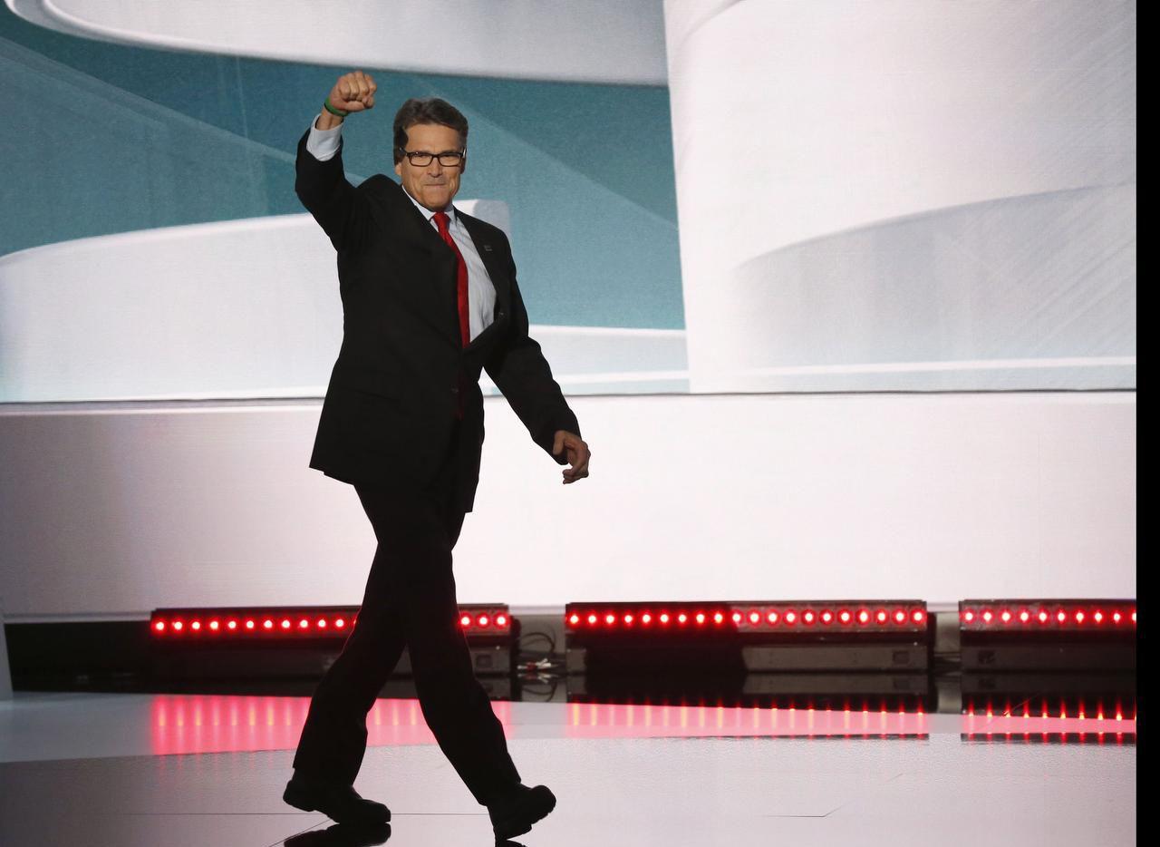 El exgobernador de Texas, Rick Perry, ha hecho campaña por Donald Trump. (DMN/VERNON BRYANT)