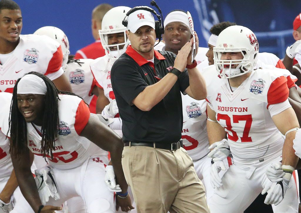 Among the selling points for Houston as it lobbies for Big 12 membership is the football program, which finished 13-1 last season under first-year head coach Tom Herman.