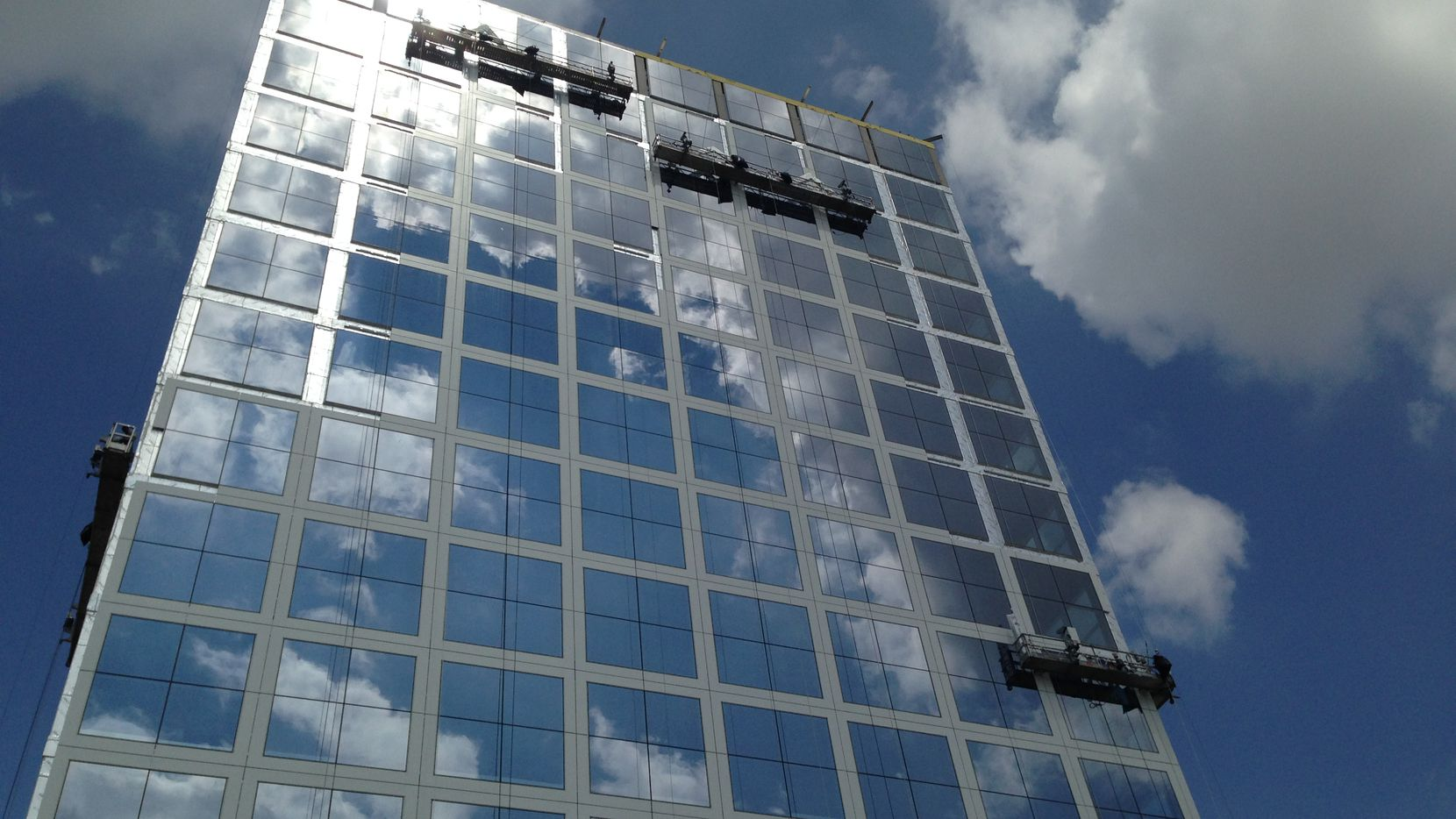 NTT Data is leasing more than 40 percent of the new One Legacy West Tower in Plano