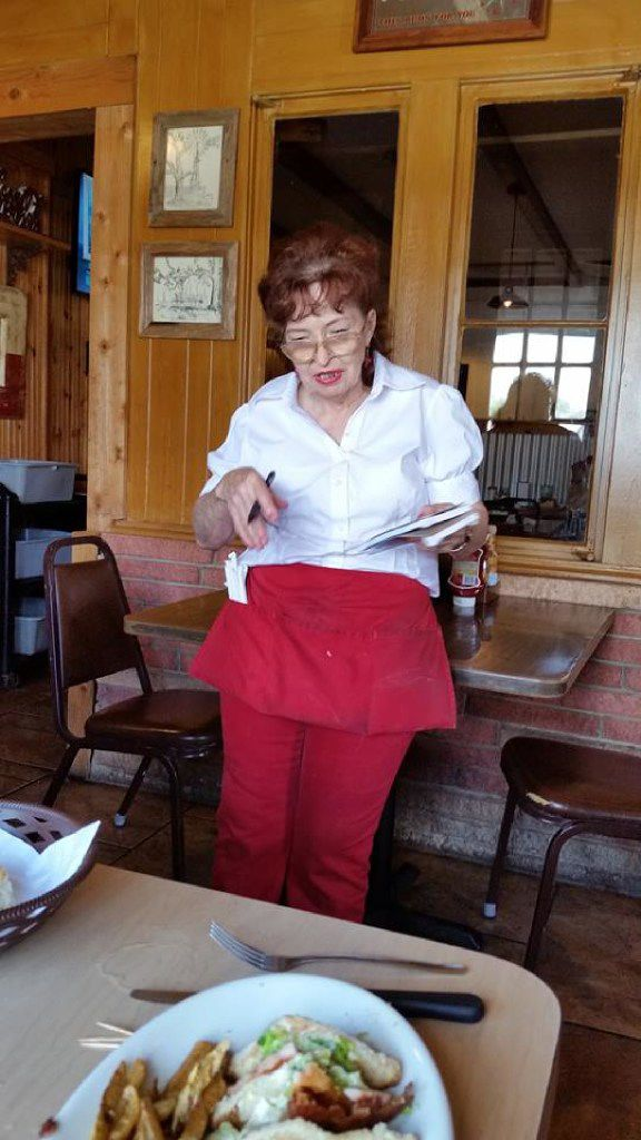 Helen Wallace, 74, has worked as a waitress at Isaack Restaurant in Junction for most of the past 50 years. She moved to town from East Texas in 1965.
