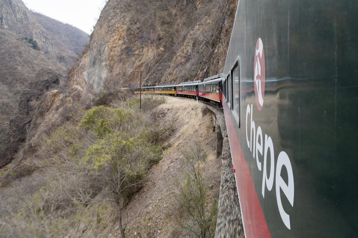 El recorrido del tren Chepe Express atraviesa la Sierra Madre Occidental. (Getty Images/Jorge Duarte Estevao)