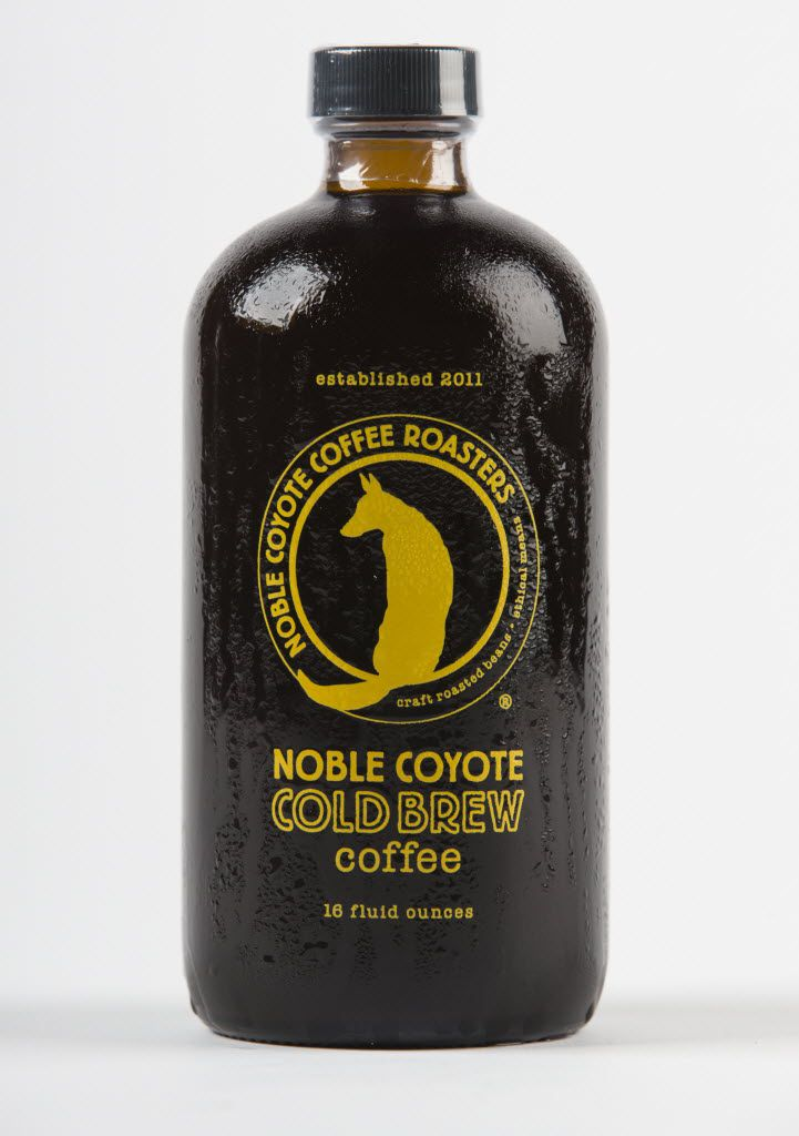 Noble Coyote Coffee Roasters cold brew coffee