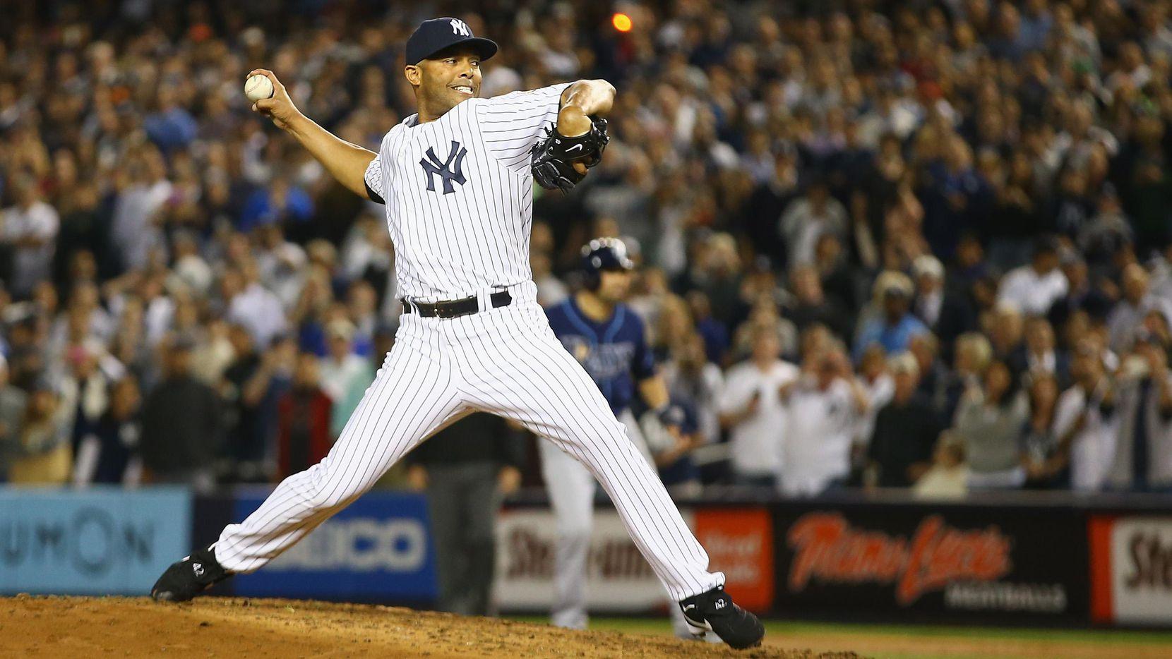 Mariano Rivera  fue el cerrador de los Yankees por 19 temporadas. (Getty Images/Al Bello)