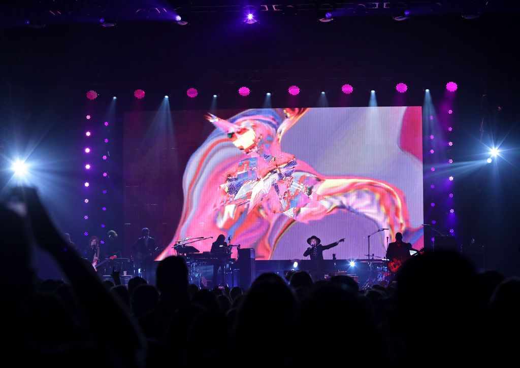 Beck performs at the Toyota Music Factory in Irving, TX, on Mar. 23, 2018.