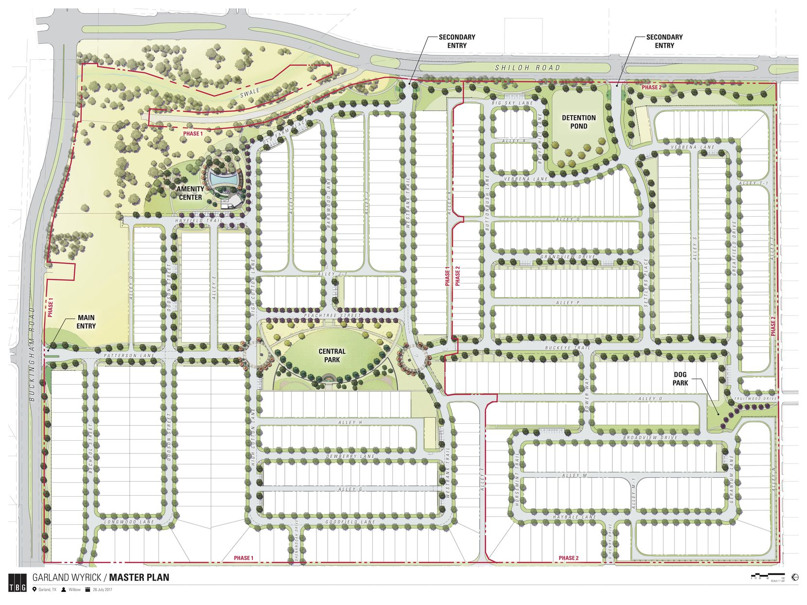 The first phase of the development will be over 300 homes.