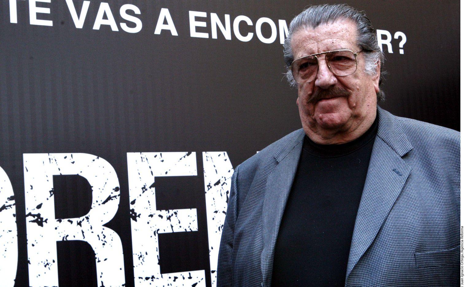 """El actor Pedro Manuel Weber Chávez """"Chatanuga"""" murió como consecuencia de una insuficiencia cardiaca y respiratorio, dio a conocer Primero Noticias./AGENCIA REFORMA"""