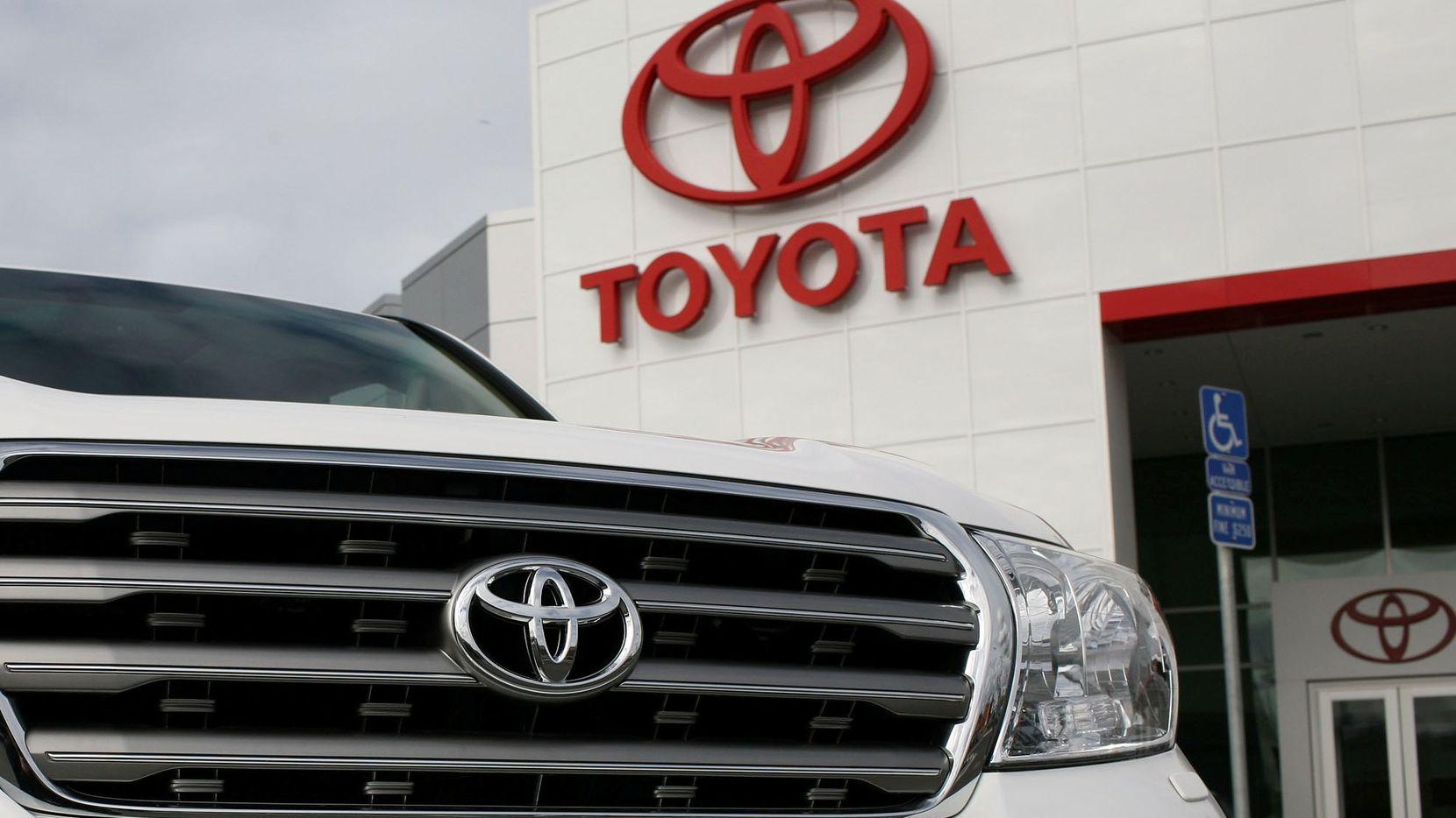 Agencia de autos Toyota. AP