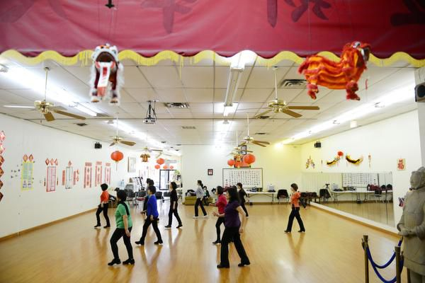 Asian women participated in a line dancing class on Feb. 11 at the Dallas Chinese Community Center in Richardson. According to the U.S. Census Bureau, Asians comprised more than 15 percent of the suburb's population in 2010.