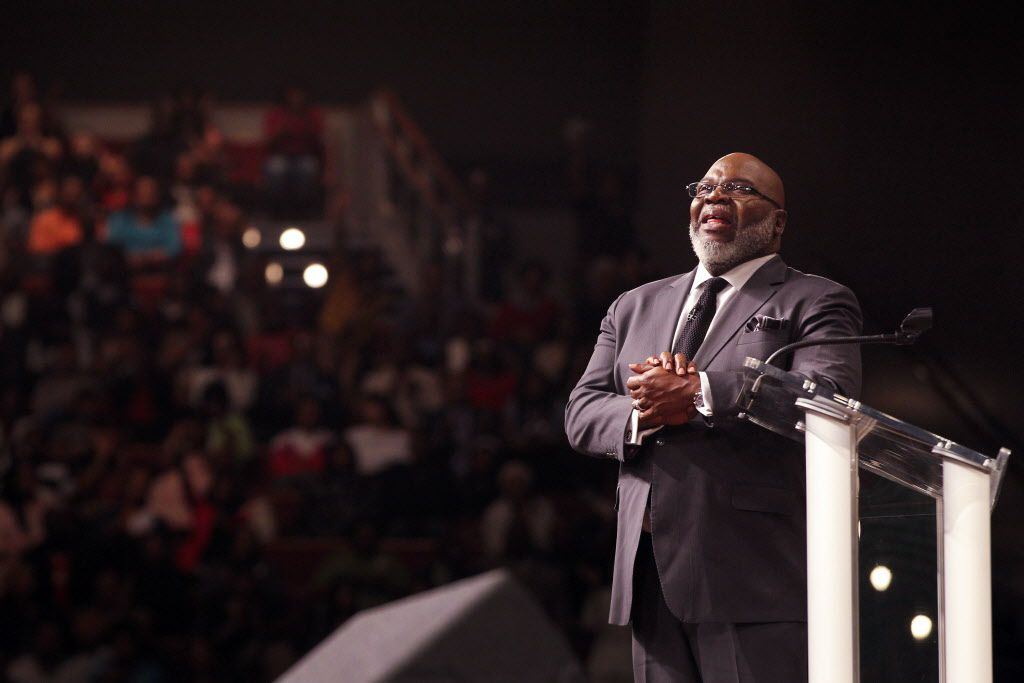 Get ready for Bishop T D  Jakes, talk-show host