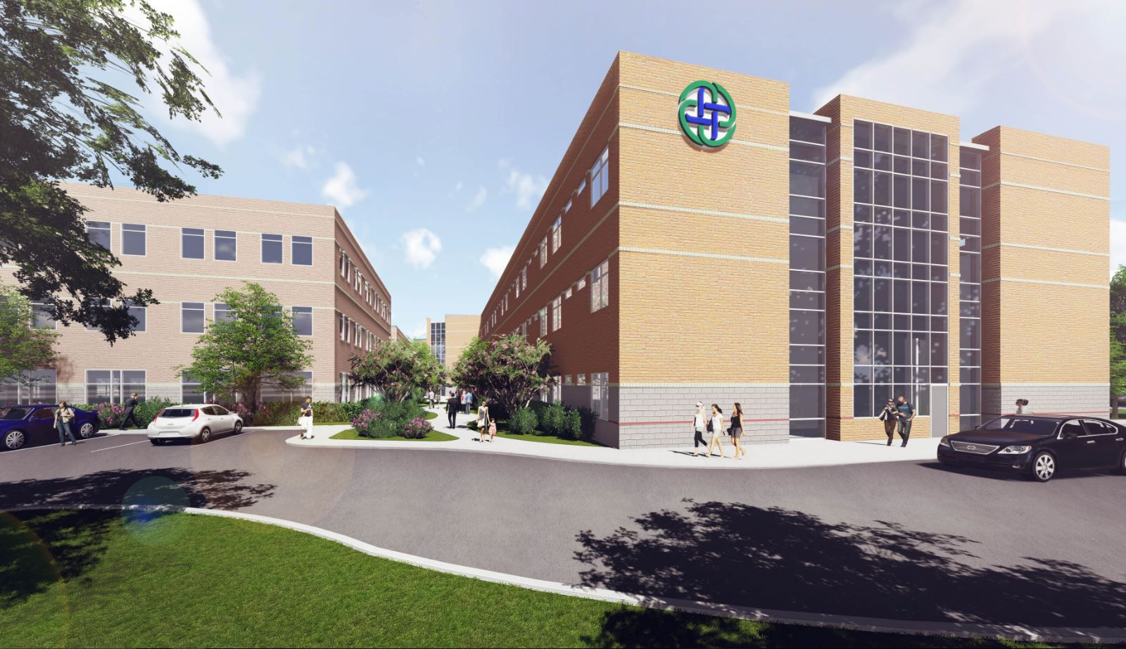 Texas Health Presbyterian Hospital Allen broke ground Tuesday on a $68-million expansion project that will roughly double the size of the current hospital when it is finished in 2020.