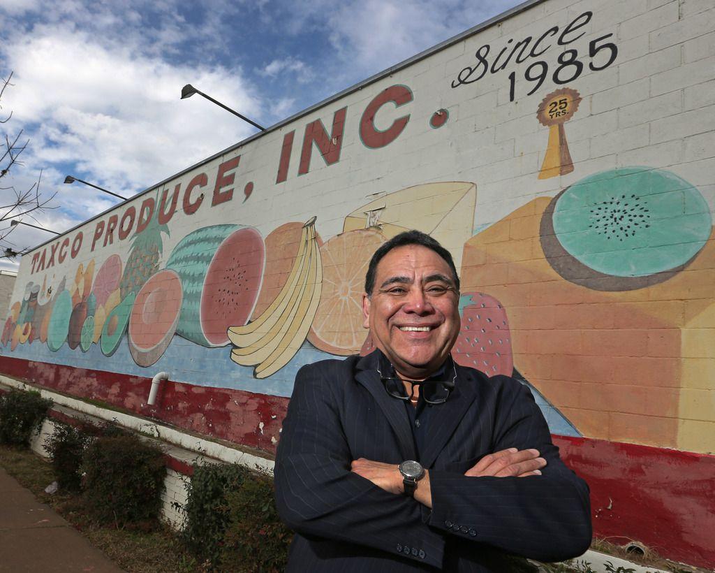 Alfredo Duarte, fundador de Taxco Produce, que vende $50 millones al año en importaciones de comida de México.