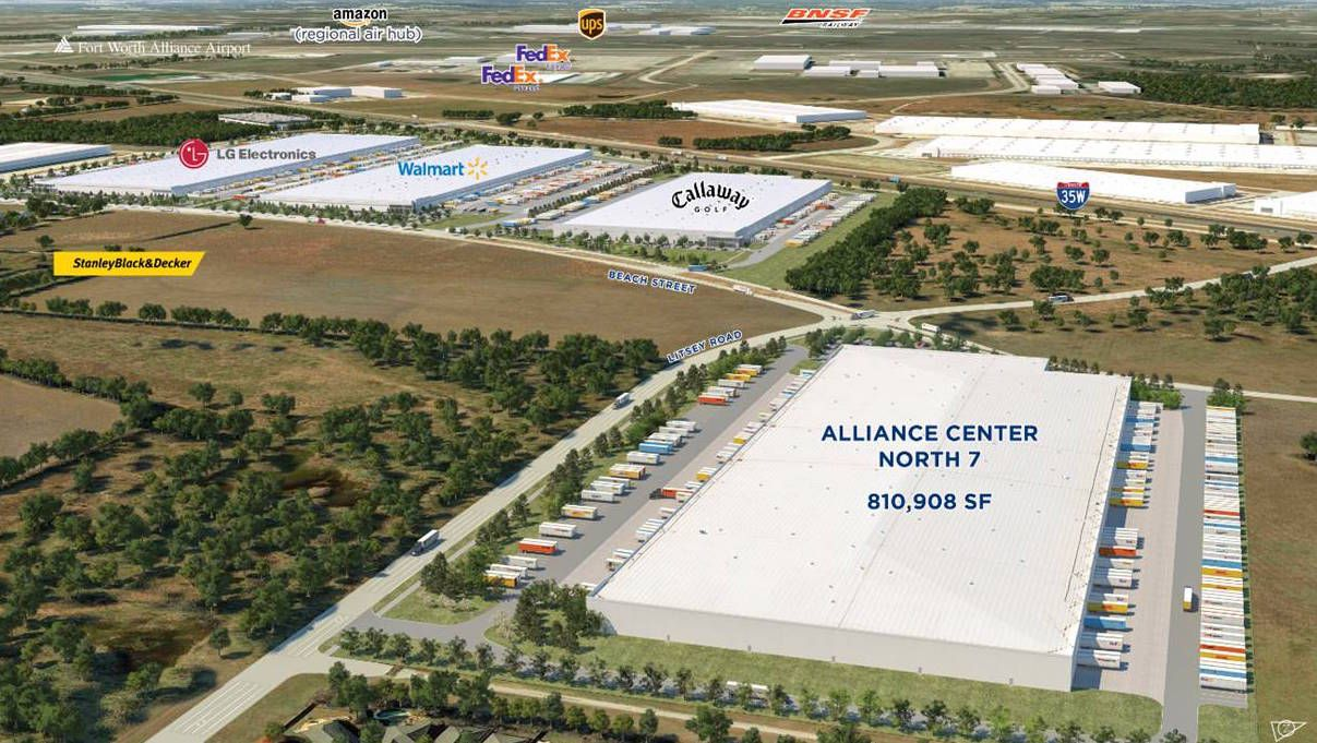 Developer Hillwood is building two warehouses north of Fort Worth with about 1.3 million square feet.