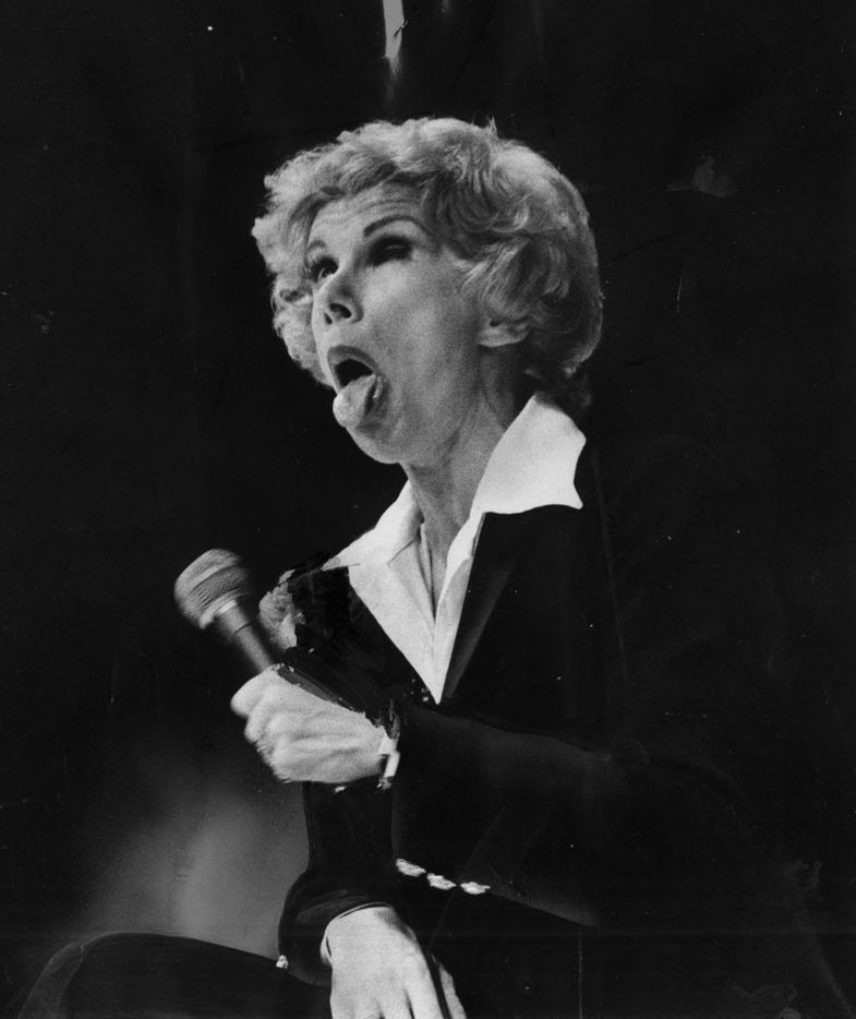 Joan Rivers in a February 19, 1978, file image.