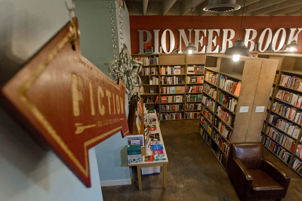 Pioneer Book in downtown Provo, Utah, fills its two-level shop with used, signed and rare books. A room upstairs showcases local art and hosts folk music jams.