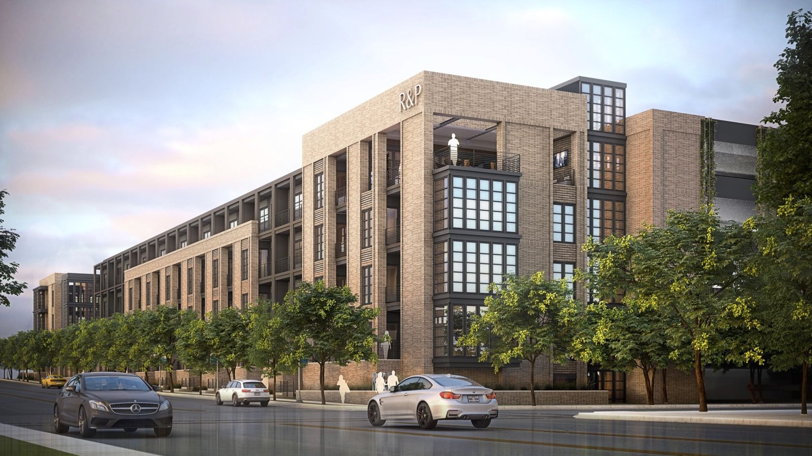 Pollack Shores Real Estate Group is building the apartments at Ross Avenue and Peak Street east of downtown Dallas.