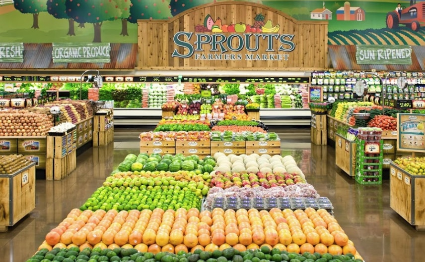 Sprouts Farmers Market in Dallas will partner with Amazon's Prime Now to offer one- and two-hour delivery of fresh produce and other grocery items.