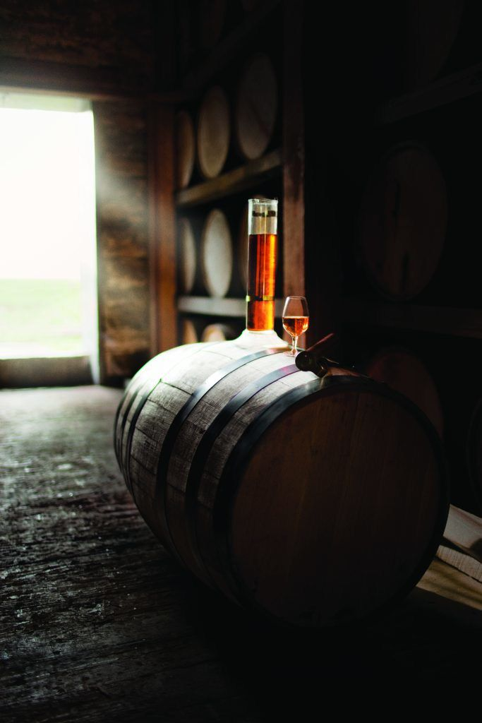 Angel's Envy is unique in that it ages its whiskey an additional six months in a port wine barrel, giving it an extra element of complexity. Some purists argue that Angel's Envy doesn't qualify as true bourbon because of this additional flavoring.