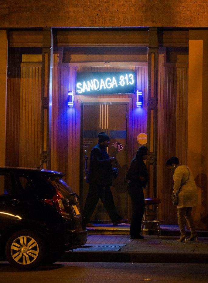 Sandaga 813, across the street from Fair Park, on Saturday, January 28, 2017 on Exposition Avenue in Dallas.