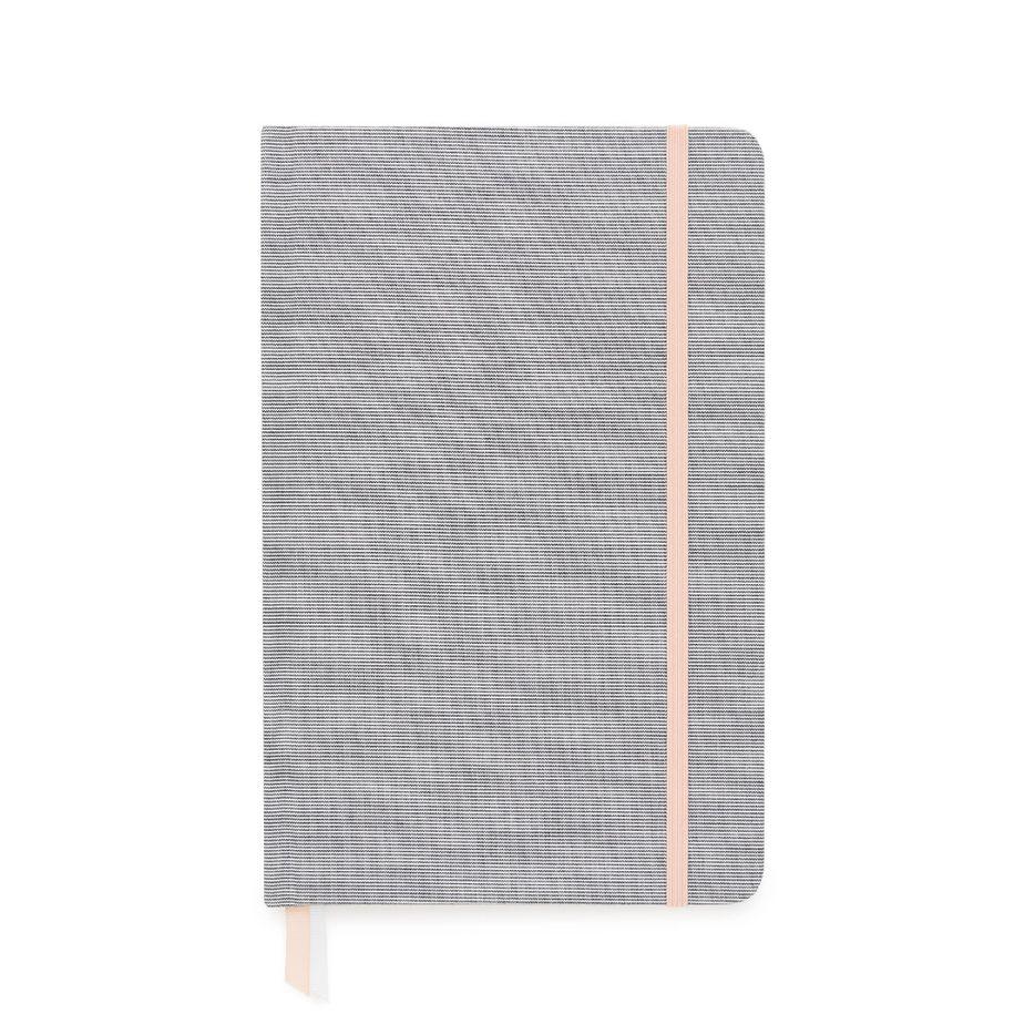 Essential Journal, Black Pencil Stripe, $24, sugarpaper.com