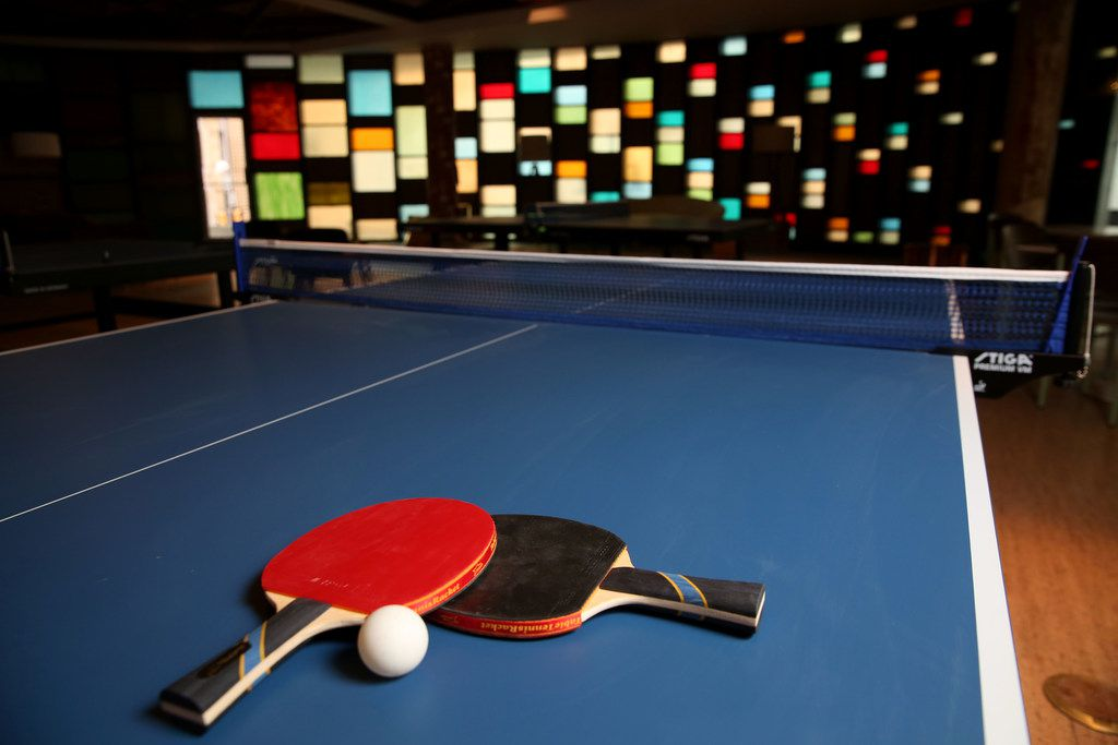 Scout offers visitors to downtown Dallas a place to play ping-pong, pool, foosball and bowling.