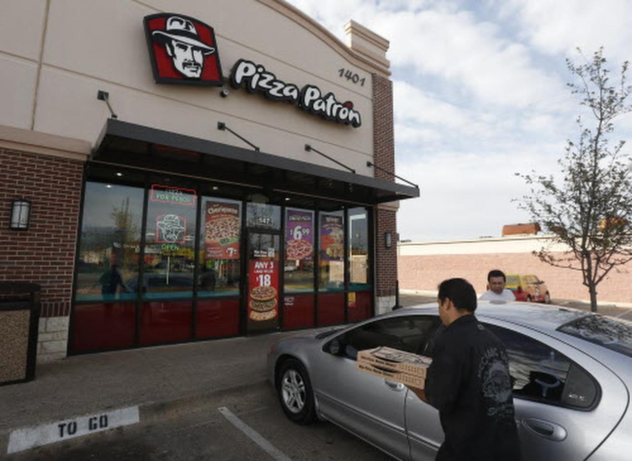 Un local de Pizza Patrón en S. Buckner Boulevard, en Dallas. (DMN/ARCHIVO)