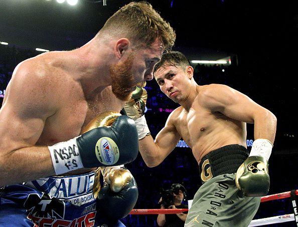 Canelo Álvarez y GGG Golovkin pelearán otra vez el sábado. Foto GETTY IMAGES