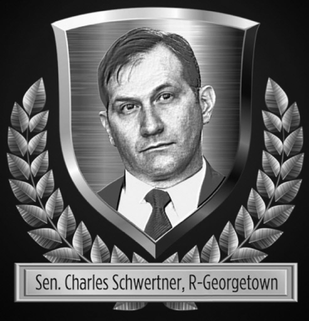 Sen. Schwertner led the fight against businesses that improperly added a surcharge when paying with a plastic card. He was also key in fighting fingerprints being taken of all state drivers.