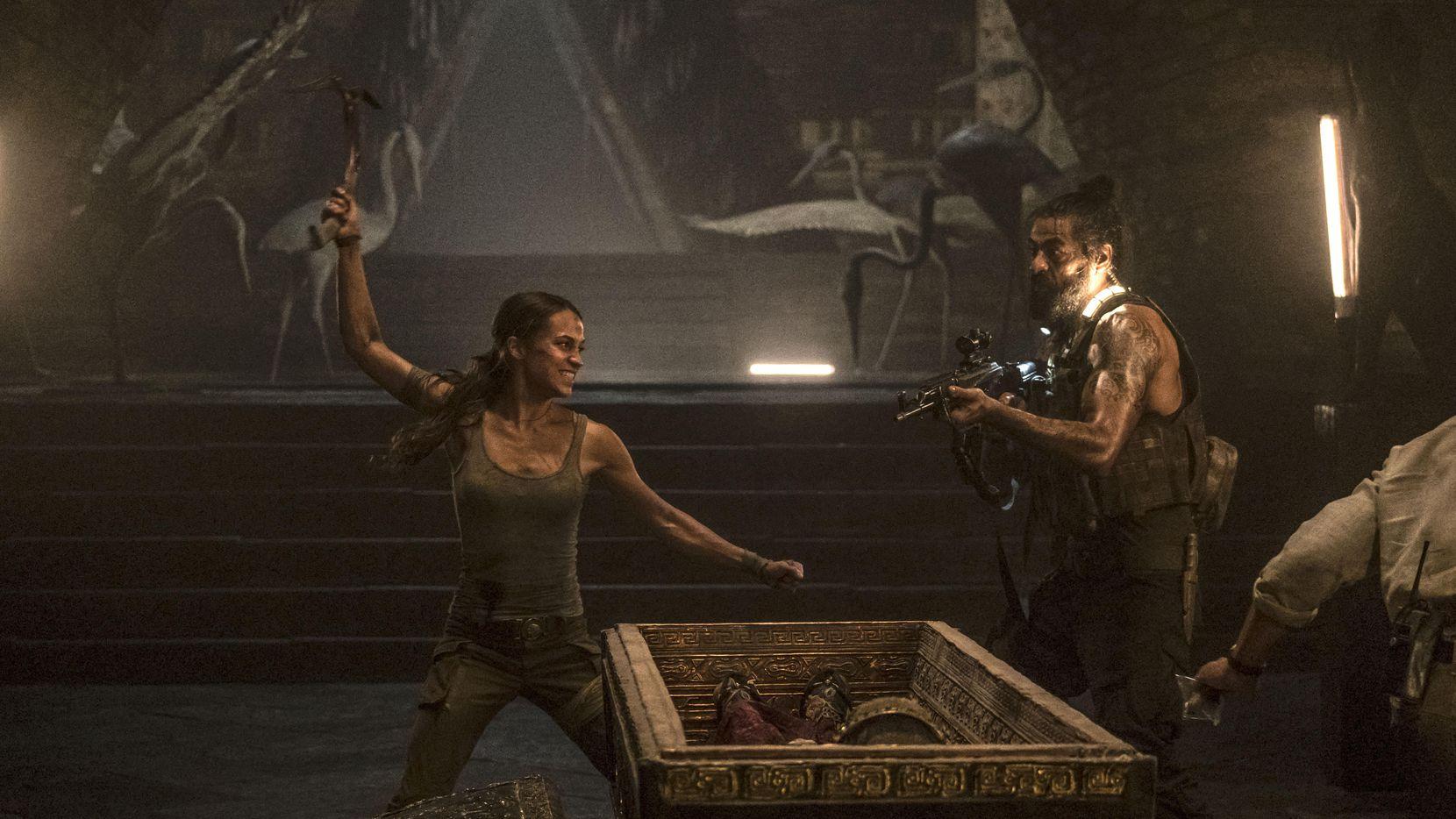 """La ganadora del Oscar, Alicia Vikander, interpreta a Lara Croft en """"Tomb Raider""""(Warner Bros. Entertainment)"""