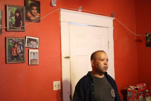 AArmando Rivera fue arrestado durante una redada. Sus hijos estadounidenses no utilizarán el seguro de salud CHIP mientras intenta regularizarse. OBED MANUEL/DMN