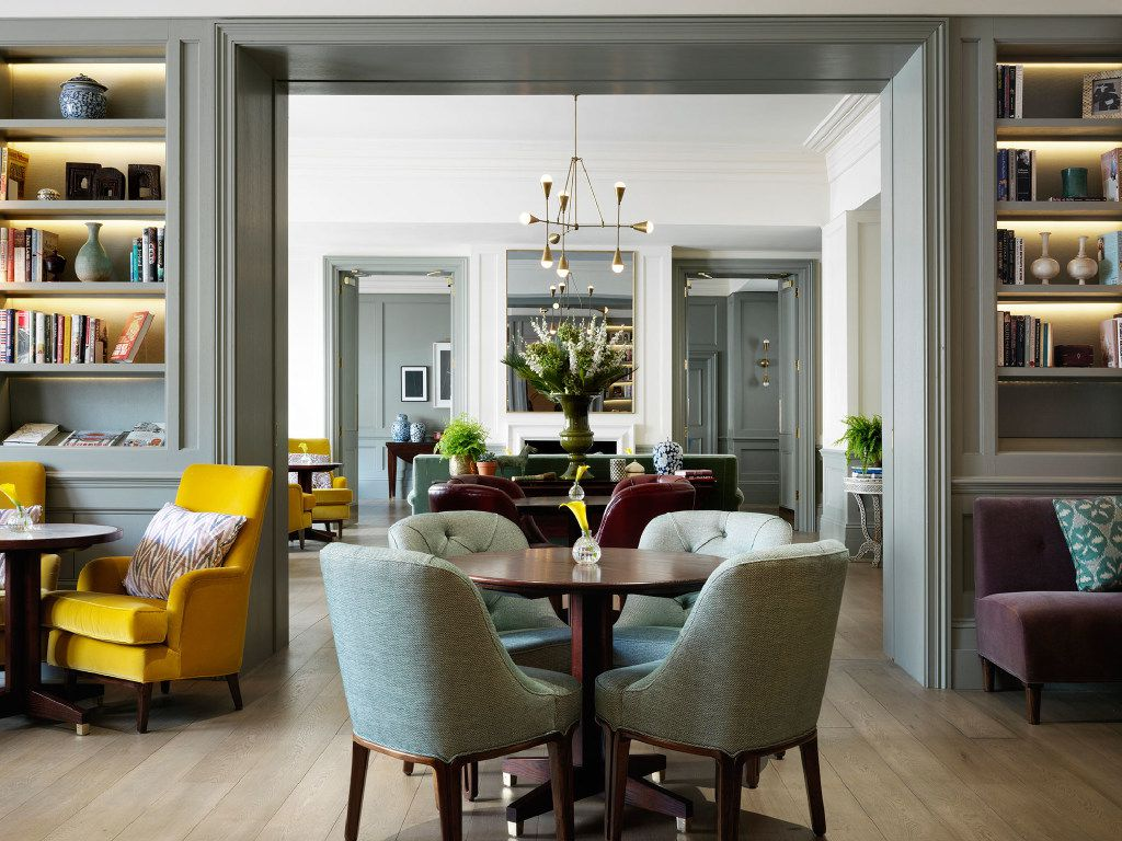 The Town House, the new restaurant at The Kensington hotels, has the feel of a private club or a comfortable residence.