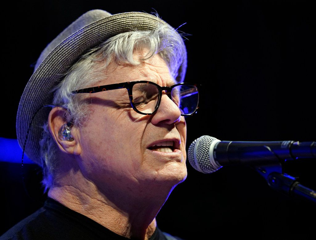 Steve Miller of the Steve Miller Band sings during his sound check at the Majestic Theatre in San Antonio, Texas, Wednesday, July 25, 2018. Steve is currently on his 50th Anniversary Tour and will perform at Allen Event Center in Allen on Friday, July 27, 2018. (David Woo Photo)