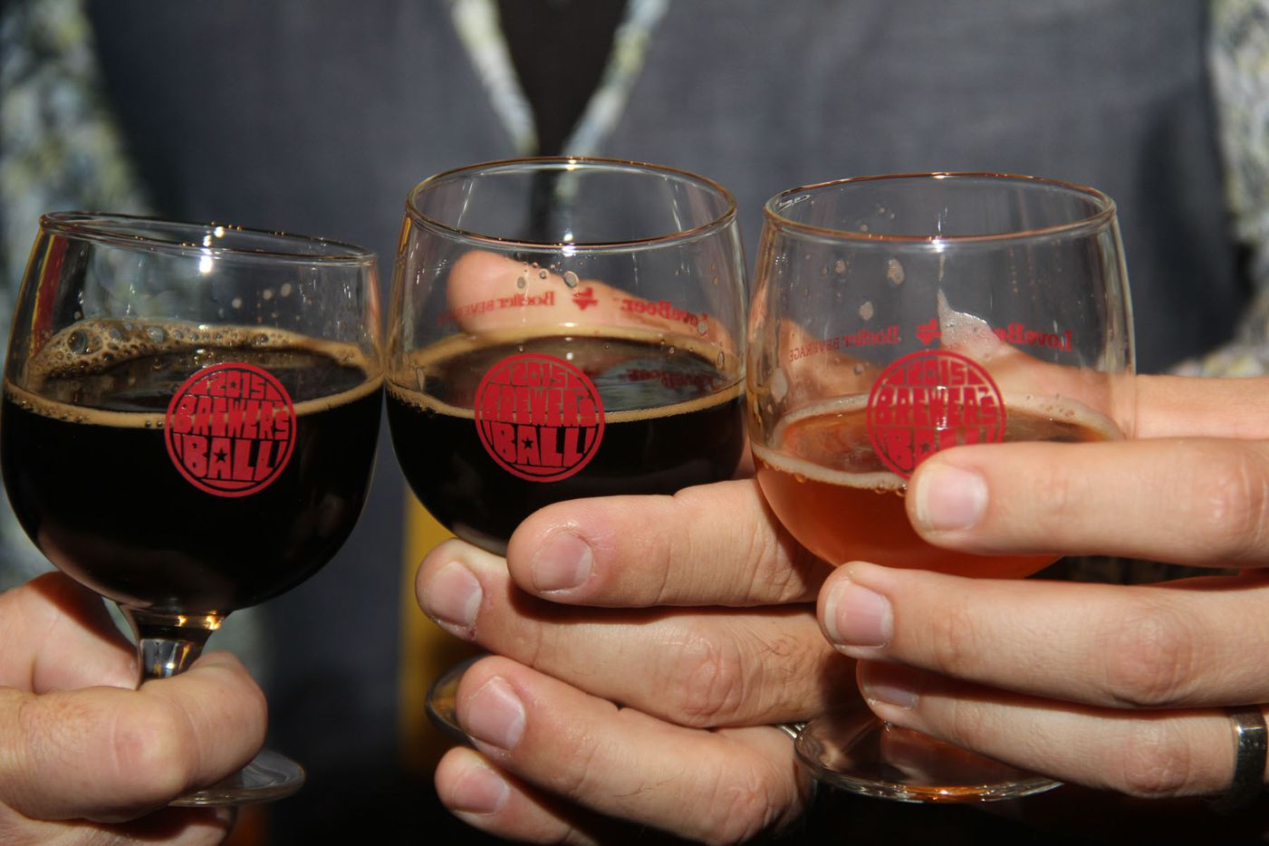NTX Beer Week held its Second Annual Brewers Ball at the Renaissance Dallas Hotel on November 13, 2015.