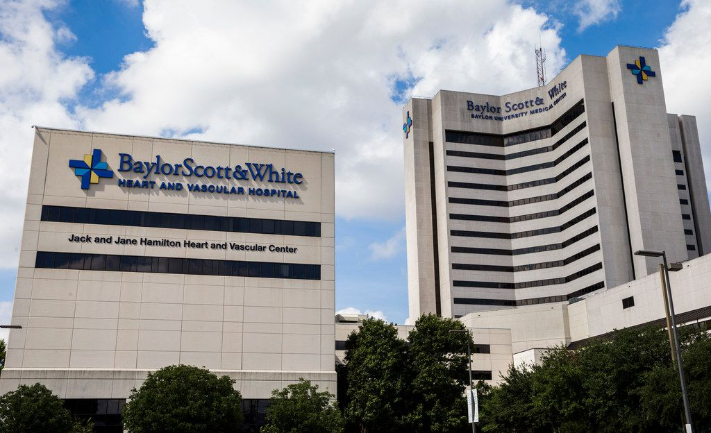 Baylor University Medical Center on Gaston Avenue in Dallas. Dallas-based Baylor Scott & White Health announced that executives have signed a letter of intent to merge with Houston's Memorial Hermann Health System.