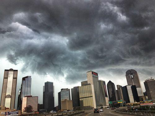 El domingo habrá más tormentas. TOM FOX/DMN
