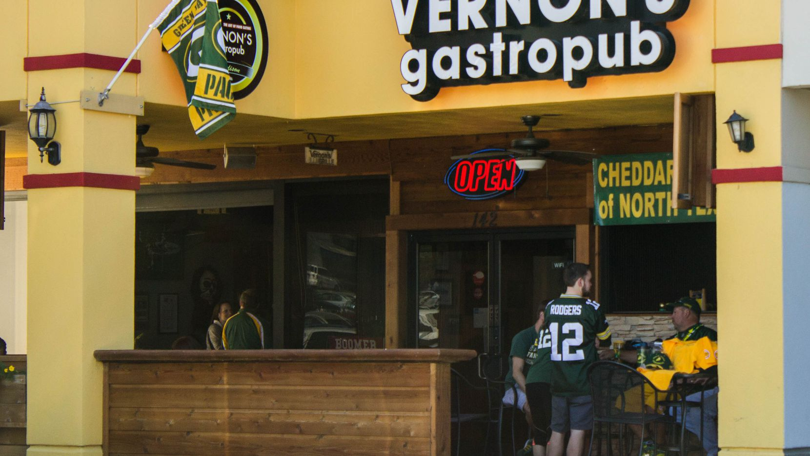 Vernon's Gastropub is located on Belt Line Road in Addison.