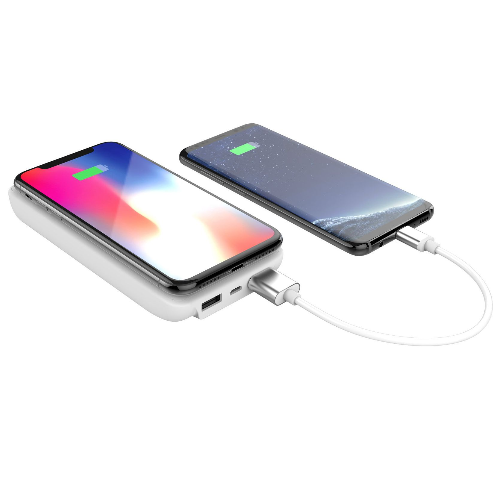 The myCharge UnPlugged 10K can charge three devices at once.