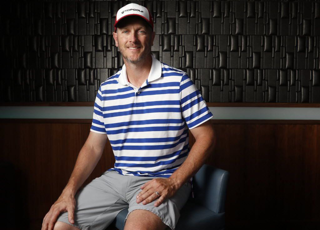 Thomas Dundon posed at Topgolf in Dallas in 2015.