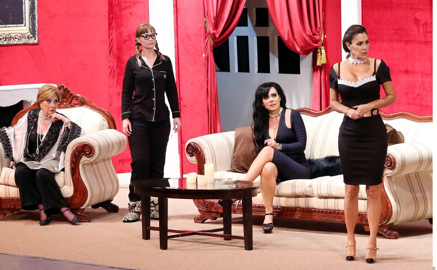 Las arpías es una obra de teatro con ocho actrices reconocidas de México que se presenta en Dallas este viernes 9 de marzo. Foto Agencia Reforma