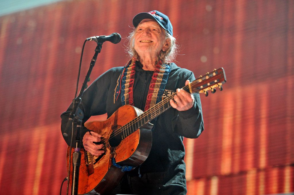 Willie Nelson performs at Farm Aid 30 at FirstMerit Bank Pavilion at Northerly Island in Chicago on Sept. 19, 2015
