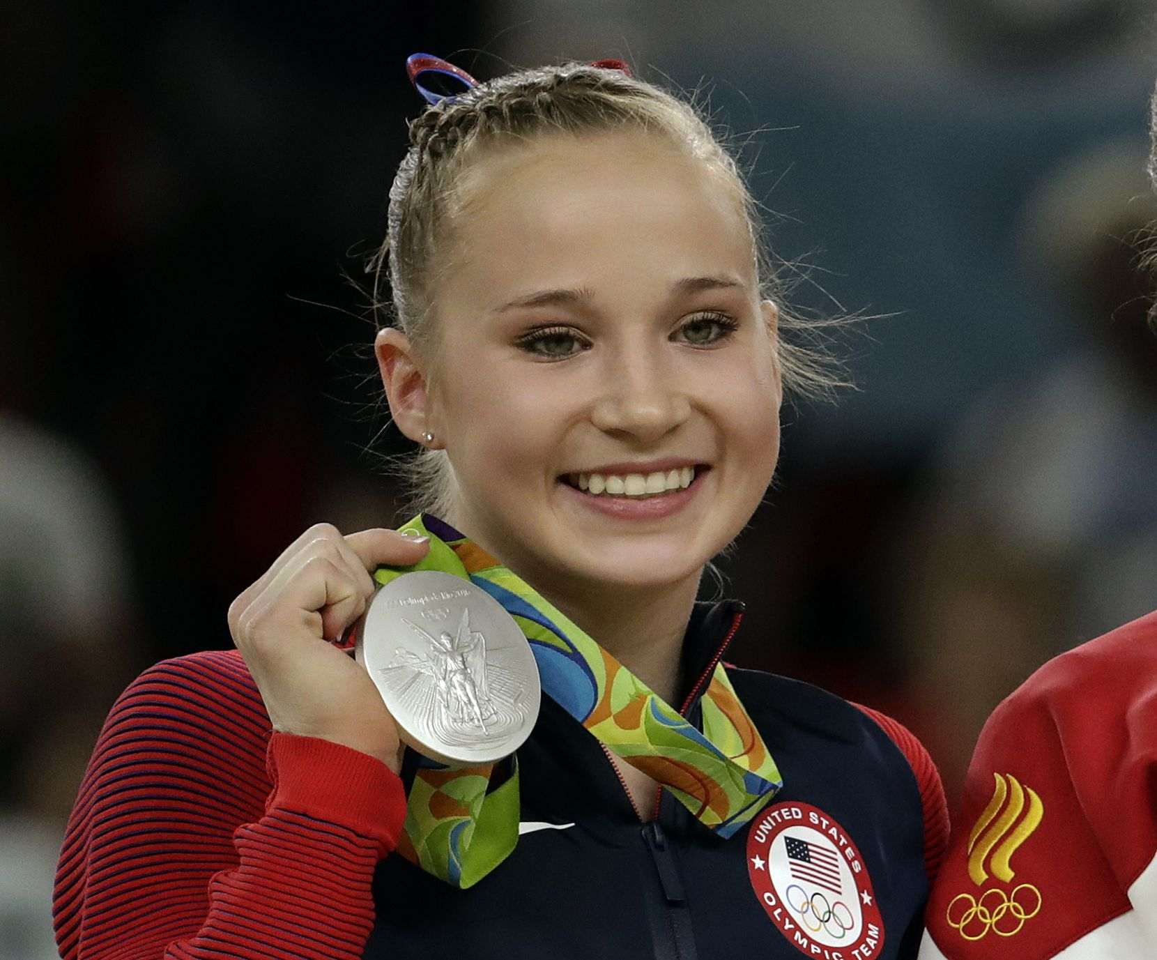 Madison Kocian. (AP Photo/Dmitri Lovetsky, File)