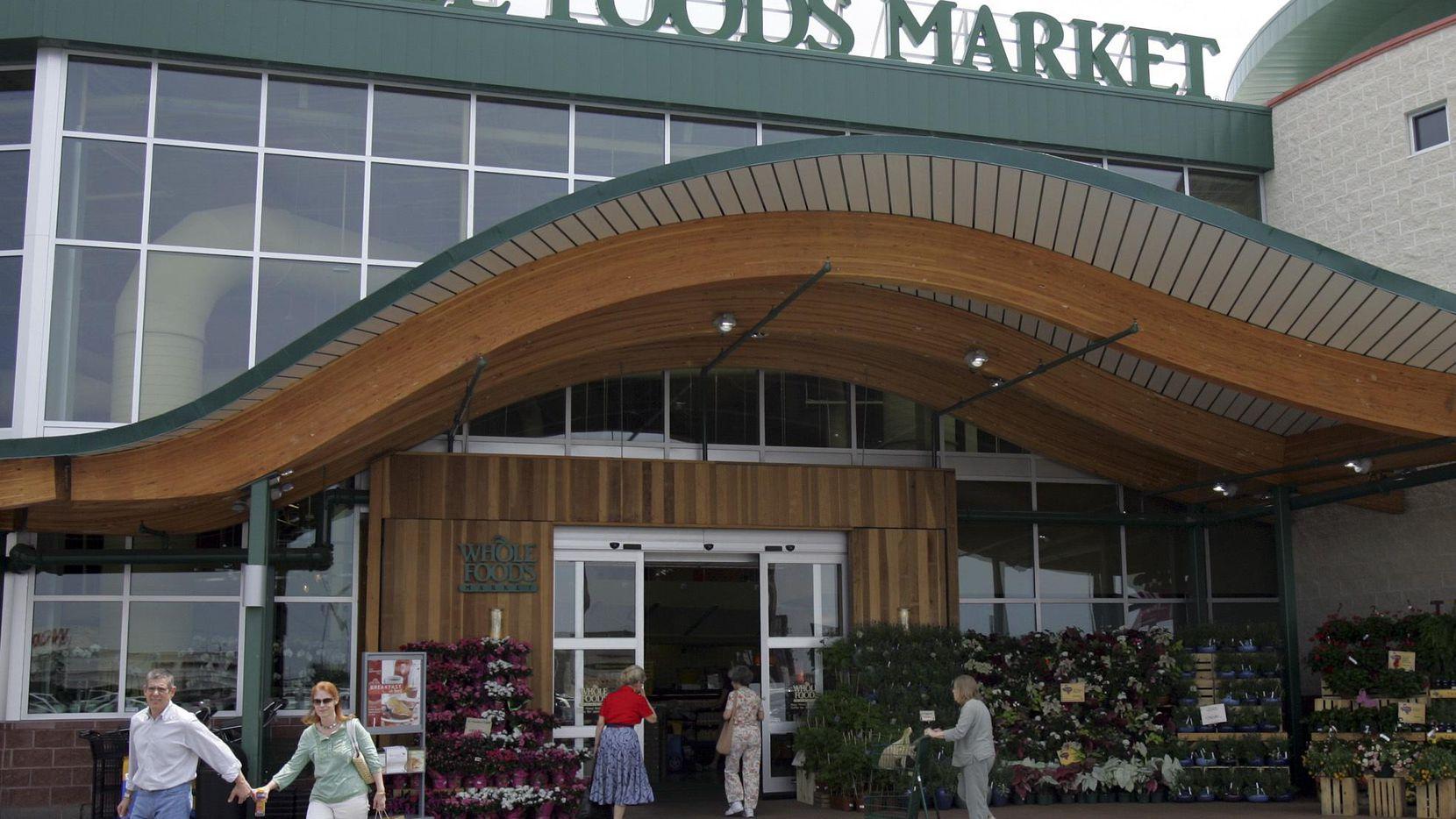La tienda Whole Foods en Preston Road, al norte de Dallas.(AP)